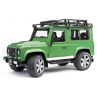 Leketøy bil Bruder Land Rover Defender Grønn 1:16 (28 x 13 x 15 cm)