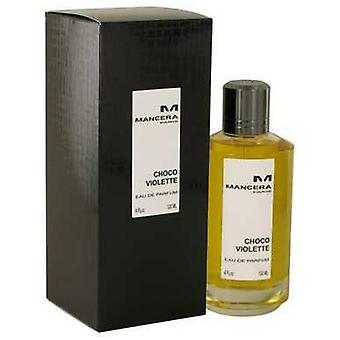 Mancera Choco Violette By Mancera Eau De Parfum Spray (unisex) 4 Oz (women)