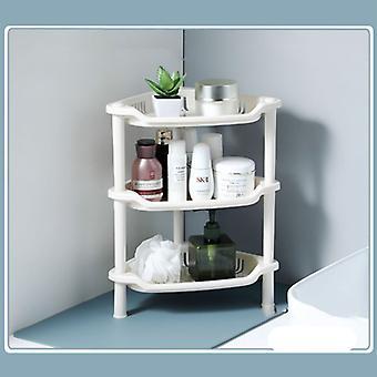 3 Layer Bathroom Shelf Organizer Corner Storage Rack
