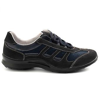 Miesten grisport kenkä 8427 sininen irrotettavalla plantarilla