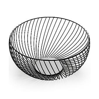 Nordic minimalist creative wrought iron fruit basket living room home fruit tray home creative