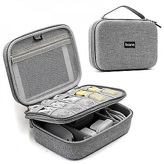 Storage Bag Traveling Data Line Headset Charger Power Bank Organizer Portable Supplies Tools