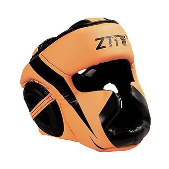 Nouveau casque de boxe entièrement couvert muay thai pu cuir formation sparring boxe coiffure équipement de gymnastique taekwondo garde-tête