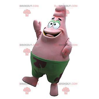 Mascot REDBROKOLY.COM of Patrick pink starfish, friend of SpongeBob SquarePants
