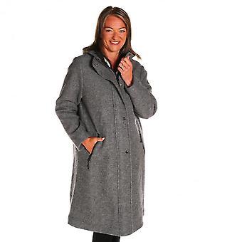 MASAI CLOTHING Masai Grey Mel Coat 1003964 Titina