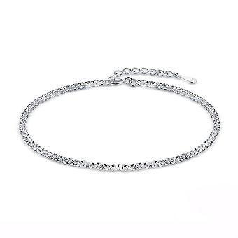 Silver plating Simple Cute Female Bracelet for Women Classic Charm Exquisite  Jewelry Gift