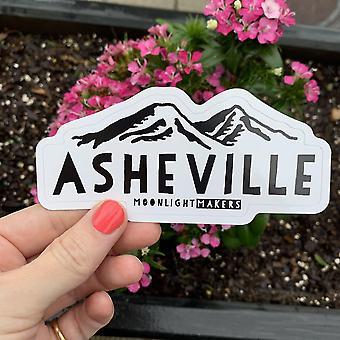 Asheville Die Cut Vinyl Sticker