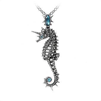 Alchemy Gothic Aequicorn Unicorn Seahorse Pendant