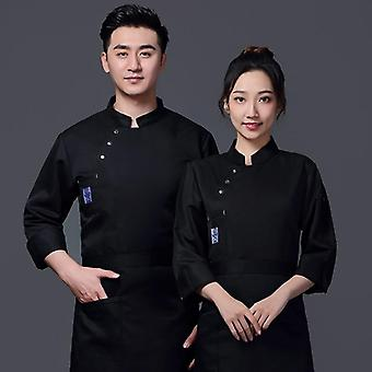 Chef's Clothing Autumn And Winter Hotel Western Food Chef's Clothing