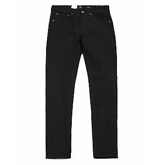 Edwin Jeans Ed-80 Slim Avsmalnande Selvedge Denim - Svart (sköljd)