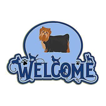 Decorative plaques carolines treasures ck8079dhw welcome door hanger