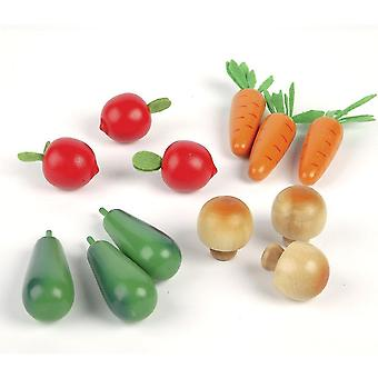 Toy kitchens play food wooden winter vegetables - play food set