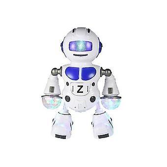 Digital cameras for kids dancing robot toy led space battery robot walking action figure toys|rc robot blue