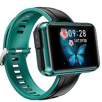 Часы t91 умные часы мужчины tws беспроводной bluetooth зеленый