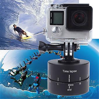 Time Lapse 360 degrés Rotation automatique de la caméra Plate-forme Trépied Tête Photographie de base