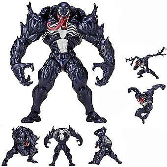 Hämmästyttävä Spider-man-yamaguchi sininen myrkky myrkyllinen artikuloitu boxed hahmo