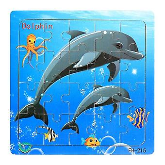 Diikamiiok Wooden Puzzles, Cartoon Cars/animals, Early Childhood Baby Toys, Children's Games, Birthday Gifts