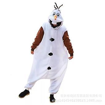 Erwachsene Cosplay Pyjamas Winter Flannel Warm Pyjamas Tier Jumpsuit