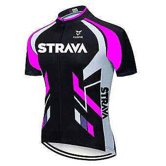 2021 Strava New Cycling Jersey 20d Bike Shorts Suit Ropa Ciclismo Mænds Sommer Hurtig Tør Pro Cykel Maillot Tøj