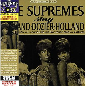 Supremes - Sing Holland/Dozier/Holland [CD] USA import