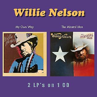 Willie Nelson - mijn eigen manier/Minstrel Man [CD] USA import
