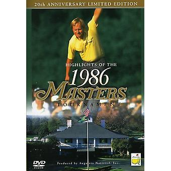 Masters-1986 Tournament Highlights [DVD] USA import