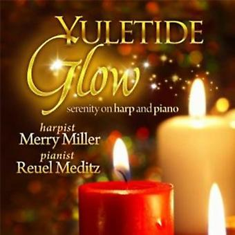 Merry Miller - Yuletide Glow: Serenity on Harp and Piano [CD] USA import