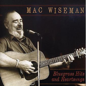 Mac Wiseman - Bluegrass Hits & Heartsongs [CD] USA import