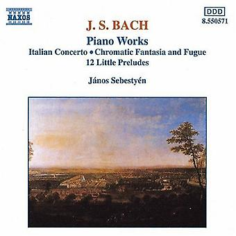 J.s. Bach - Bach: Piano Works [CD] USA import