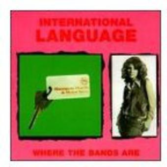 International Language - Where the Bands Are [CD] USA import