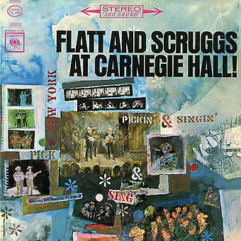 Flatt & Scruggs - At Carnegie Hall: Complete Concert [CD] USA import