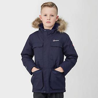 Nowy Berghaus Boy ' s Fourstones Parka dzieci płaszcz niebieski