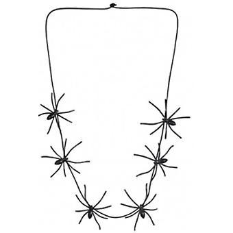 Halloween e horror mulheres aranhas colares