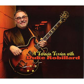 Duke Robillard - Swinging Session with Duke Robillard [CD] USA import