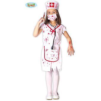 Children's costumes Girls Zombie halloween nurse