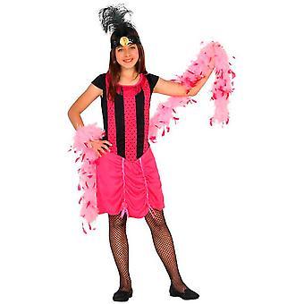 Kinder Kostüme Mädchen Kabarett Girl Kostüm