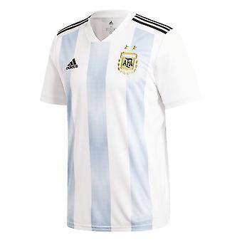 2018-2019 Argentina Home Adidas Football Shirt (Kids)