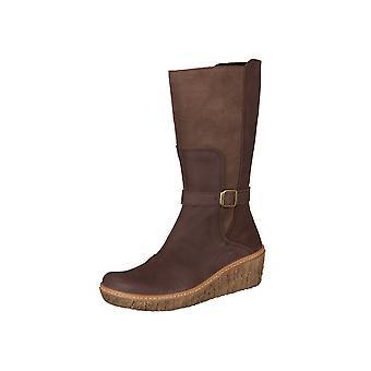 El Naturalista Mythe Yggdrasil Brown Pleasant Lux Suede N5134 chaussures universelles pour femmes d'hiver