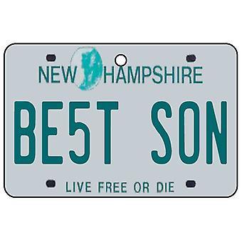 New Hampshire - beste zoon kenteken auto luchtverfrisser
