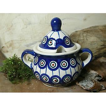Sugar Bowl, 2ª escolha, Bunzlau cerâmica tradicional 13 - BSN 10041