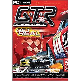 GTR-FIA GT racing spil (PC CD)-ny