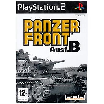Panzer Front Ausf.B (PS2) - Uusi tehdas suljettu