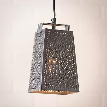 Irvin's Country Tinware Cheese Grater Pendant