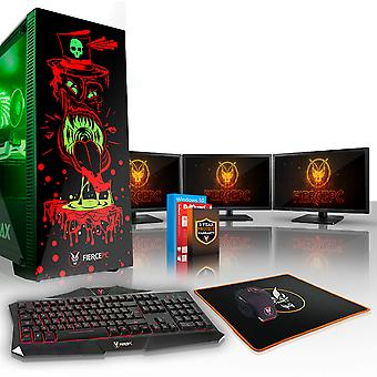 Felle GOBBLER Gaming PC, Intel Core i7 8700 K 4.5 GHz, 240 GB SSD, 2 TB HDD, 16 GB RAM, RTX 2060 6 GB