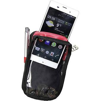 Plano P549XL Smartphone Custodia XL nero, rosso