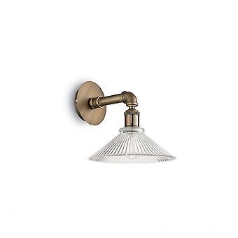 Ideal Lux Astrid Single Bronze verdeckten Pipe Wandleuchte
