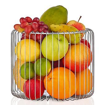 Vegetable basket basket fruit basket of stainless steel matte
