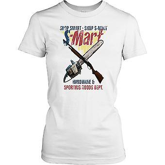 Loja loja inteligente S Mart - exército da escuridão citação feminina T-Shirt