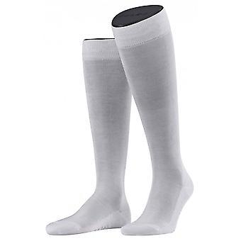 Falke Tiago strumpor knä höga - vit