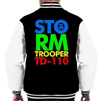 Originele Stormtrooper 80s Logo mannen Varsity Jacket